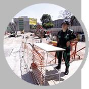 Guardias de seguridad para construcciones y obras