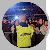 Guardias de seguridad para eventos