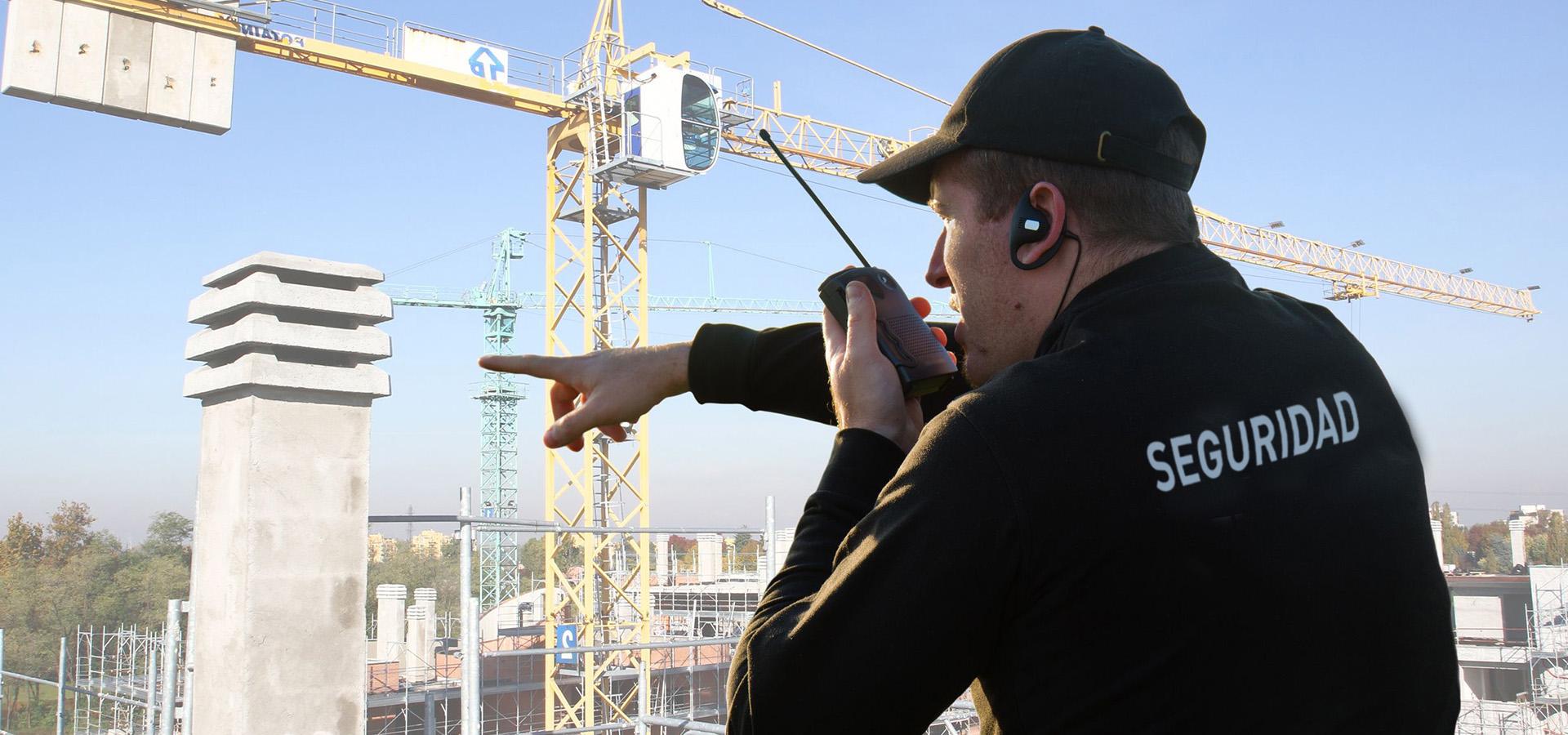Guardias de seguridad privada para construcciones y obras