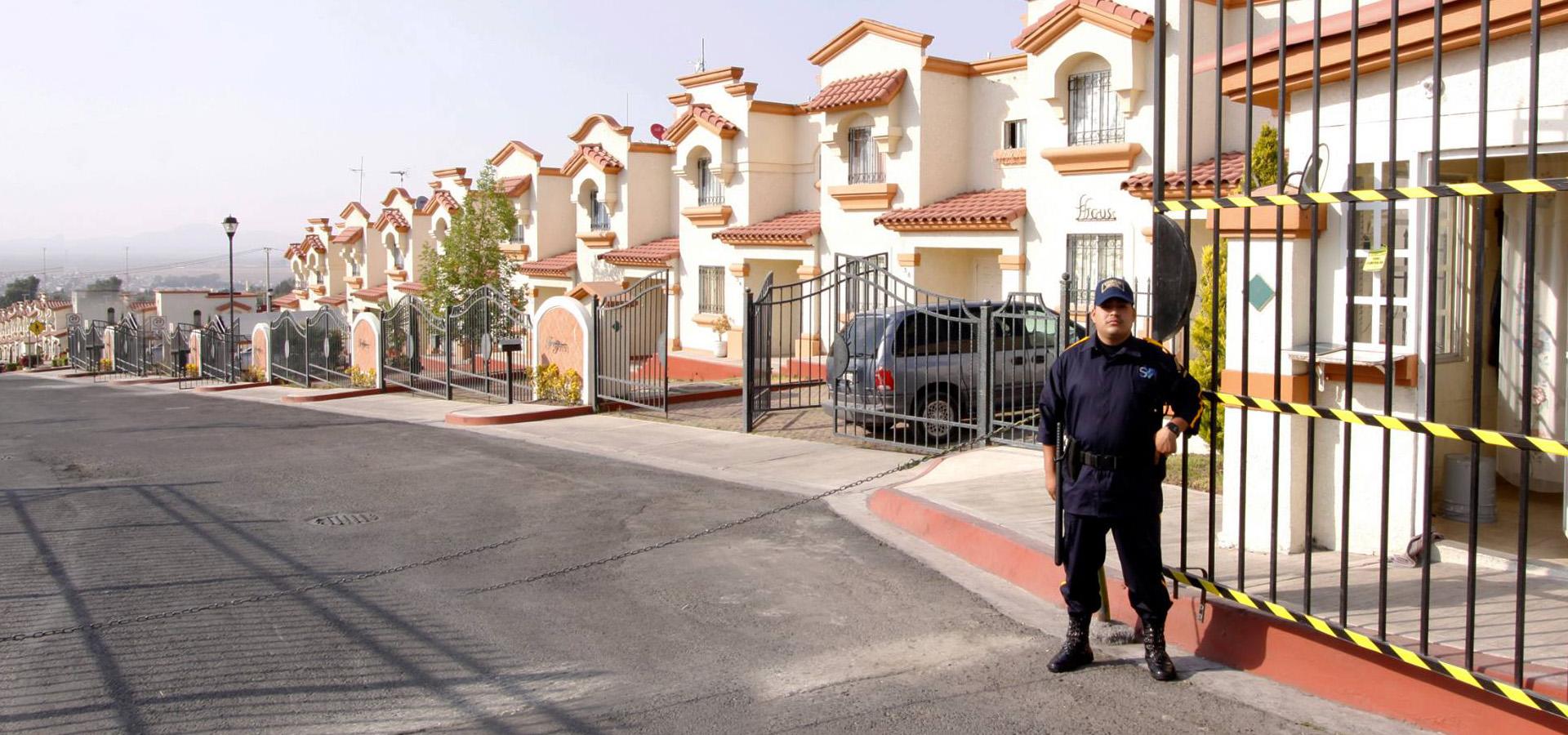 guardias de seguridad privada en México